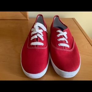 Keds Shoes - Keds original champion red canvas oxford sneaker